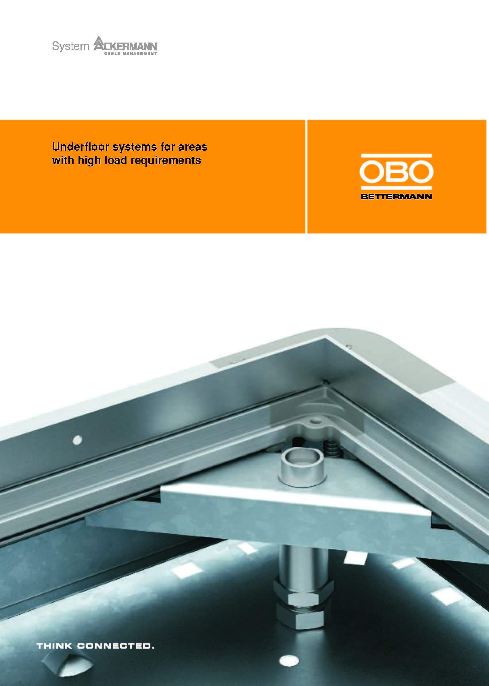 Sistemas de cajas de piso para altos requerimientos