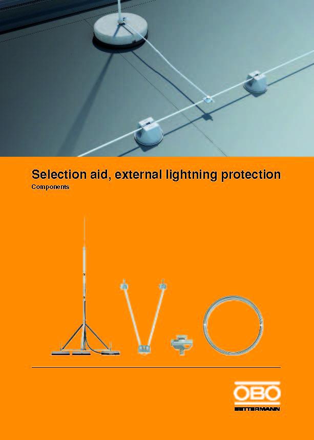 Guía de Selección para Sistemas de Protección Externa contra Rayos
