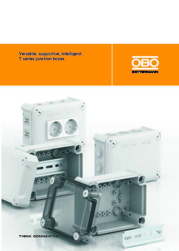 Cajas de conexión Serie T - Manual