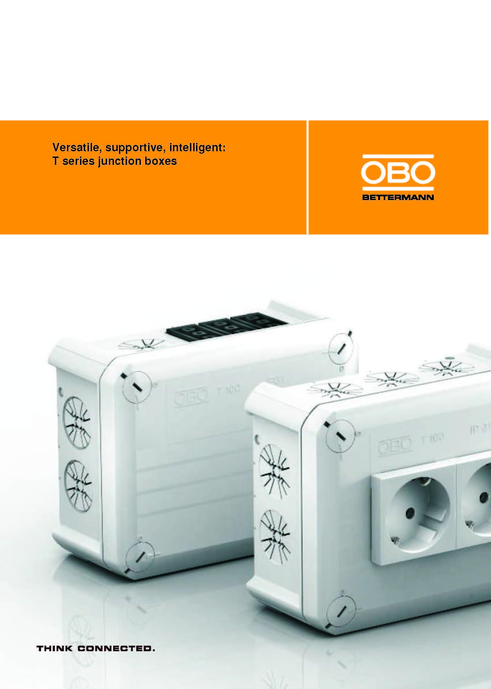 Cajas de conexión Serie T - Brochure