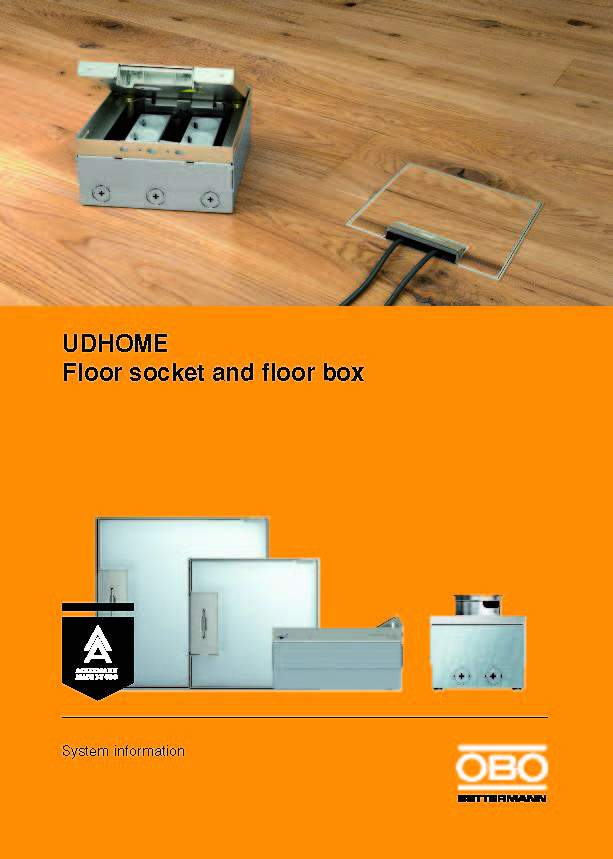 Cajas de Piso UD-Home